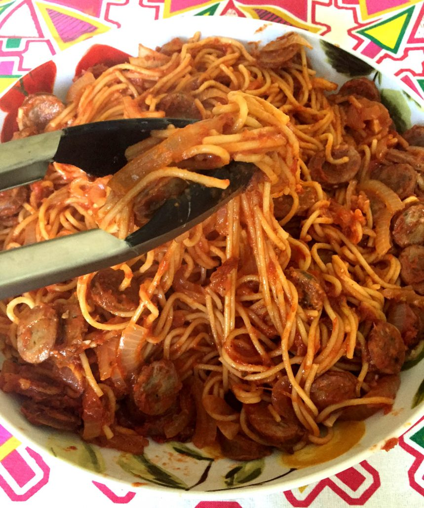 One-Pot Sausage Pasta Recipe
