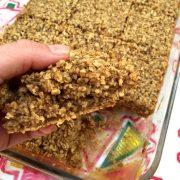 Amish Baked Oatmeal Casserole