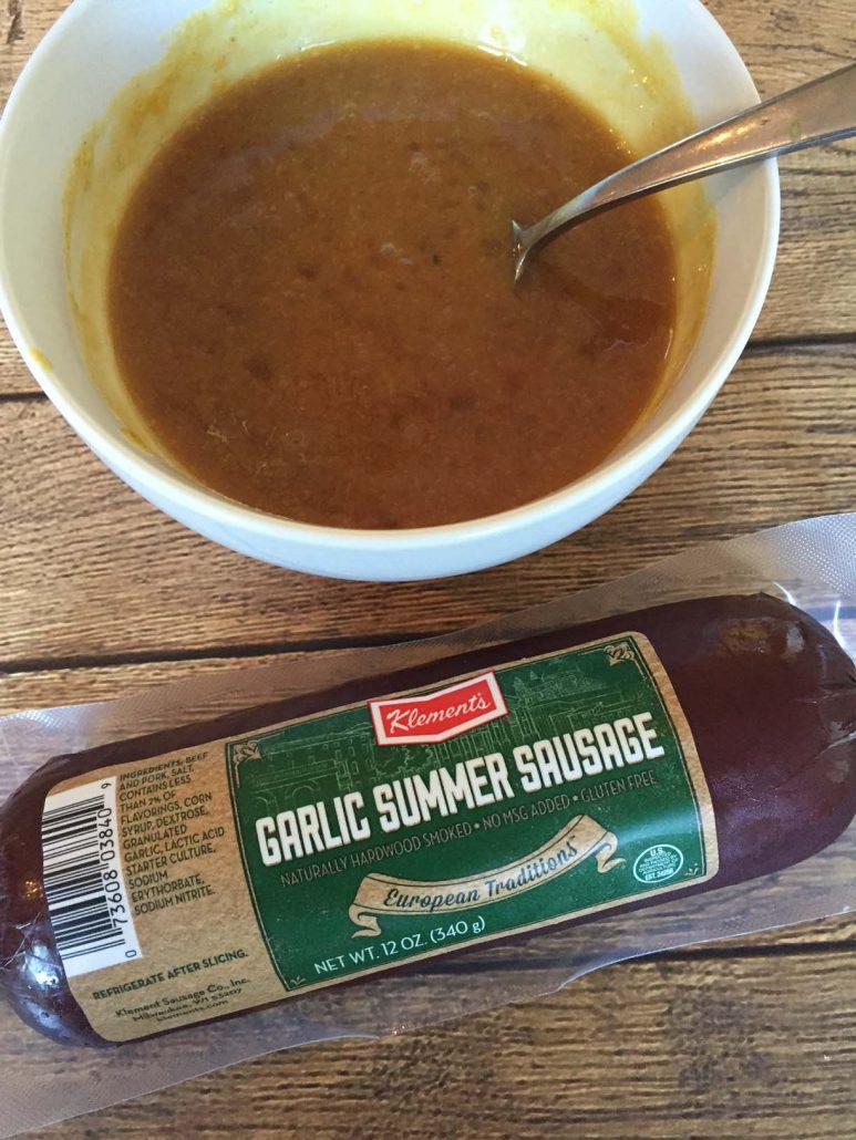 Glaze For Klements Summer Sausage