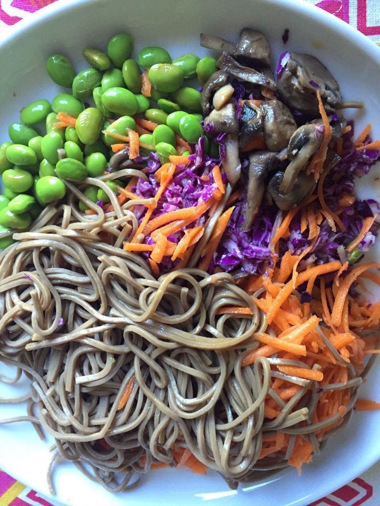 Japanese Soba Noodle Bowl - Vegan and Gluten-Free!