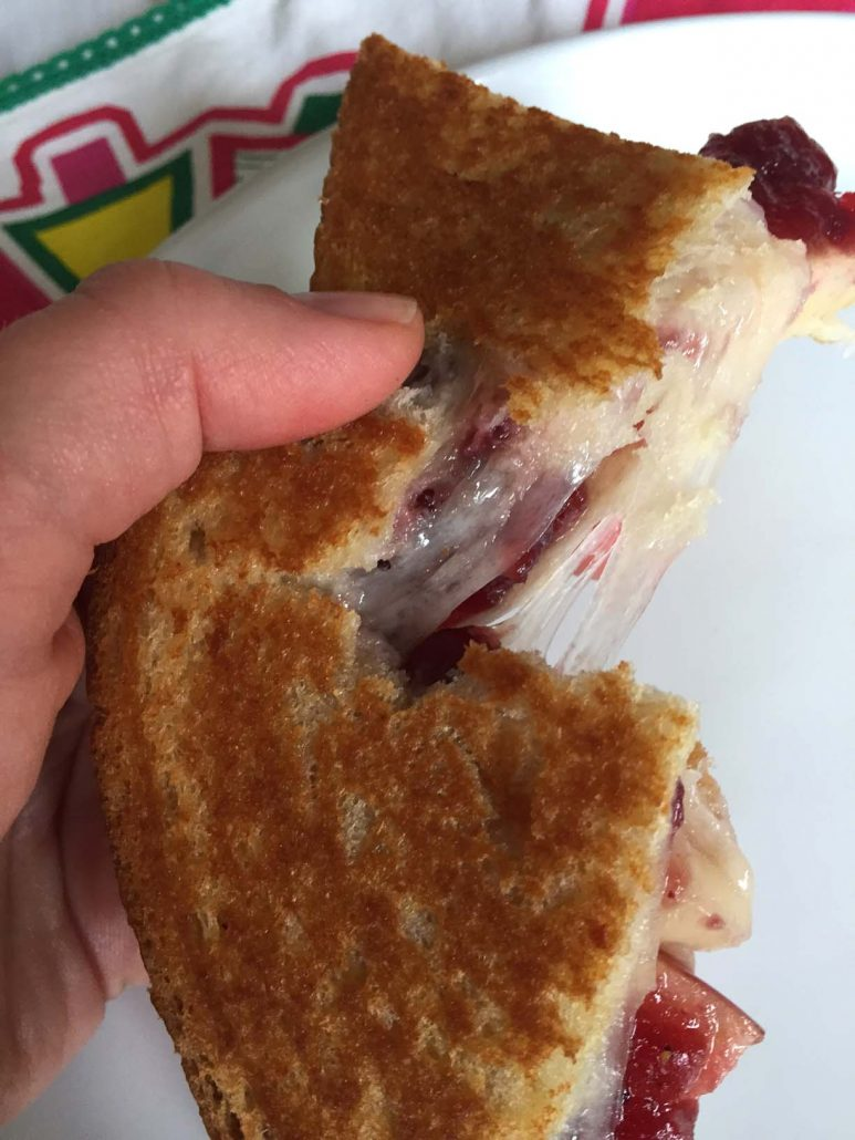 Stretchy Grilled Cheese