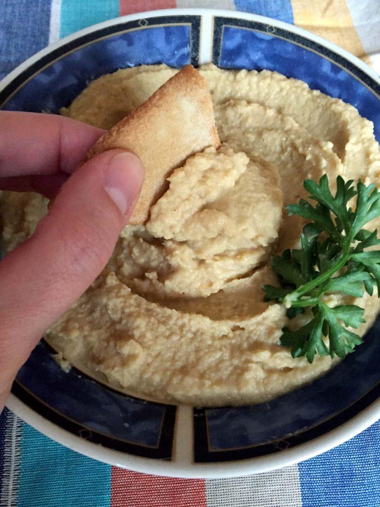 Sesame-Free Hummus Recipe Without Tahini