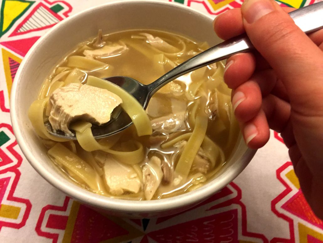 How To Make Chicken Noodle Soup With Rotisserie Chicken