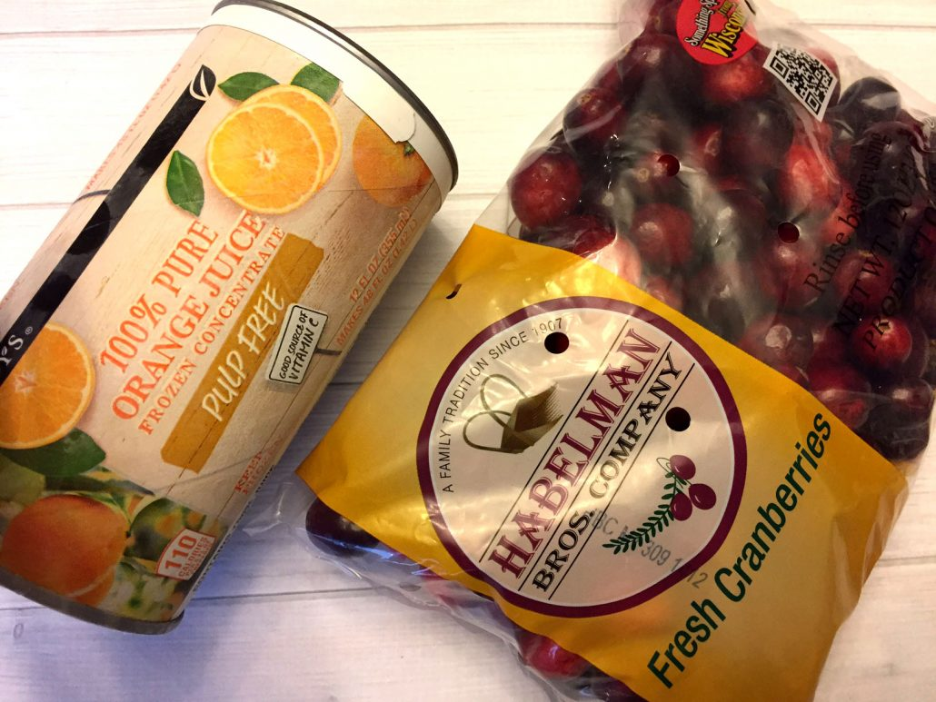 Cranberry Orange Sauce 2 Ingredients