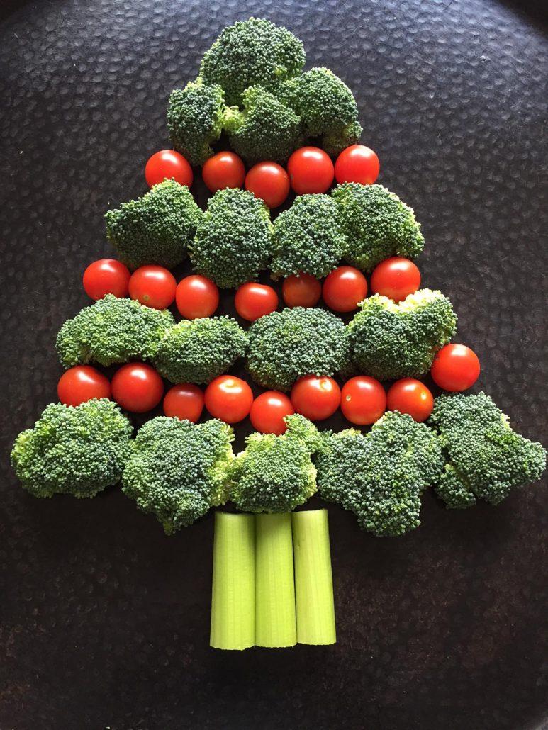 How To Make Broccoli Christmas Tree