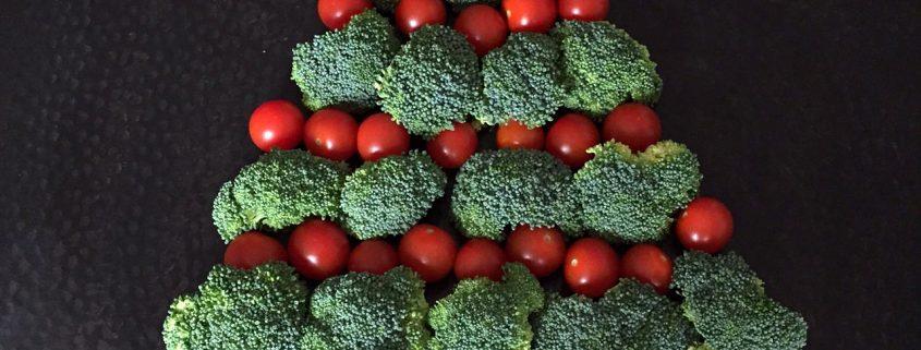 Christmas Tree Veggie Platter