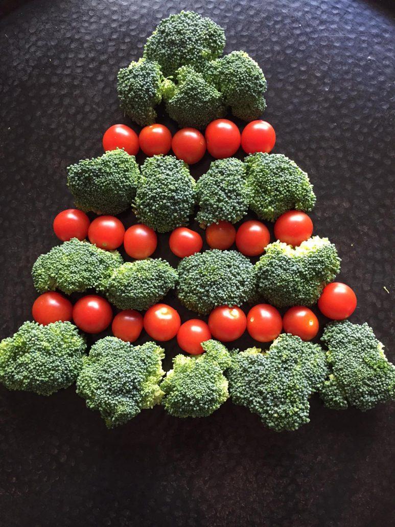 How To Make Vegetable Christmas Tree