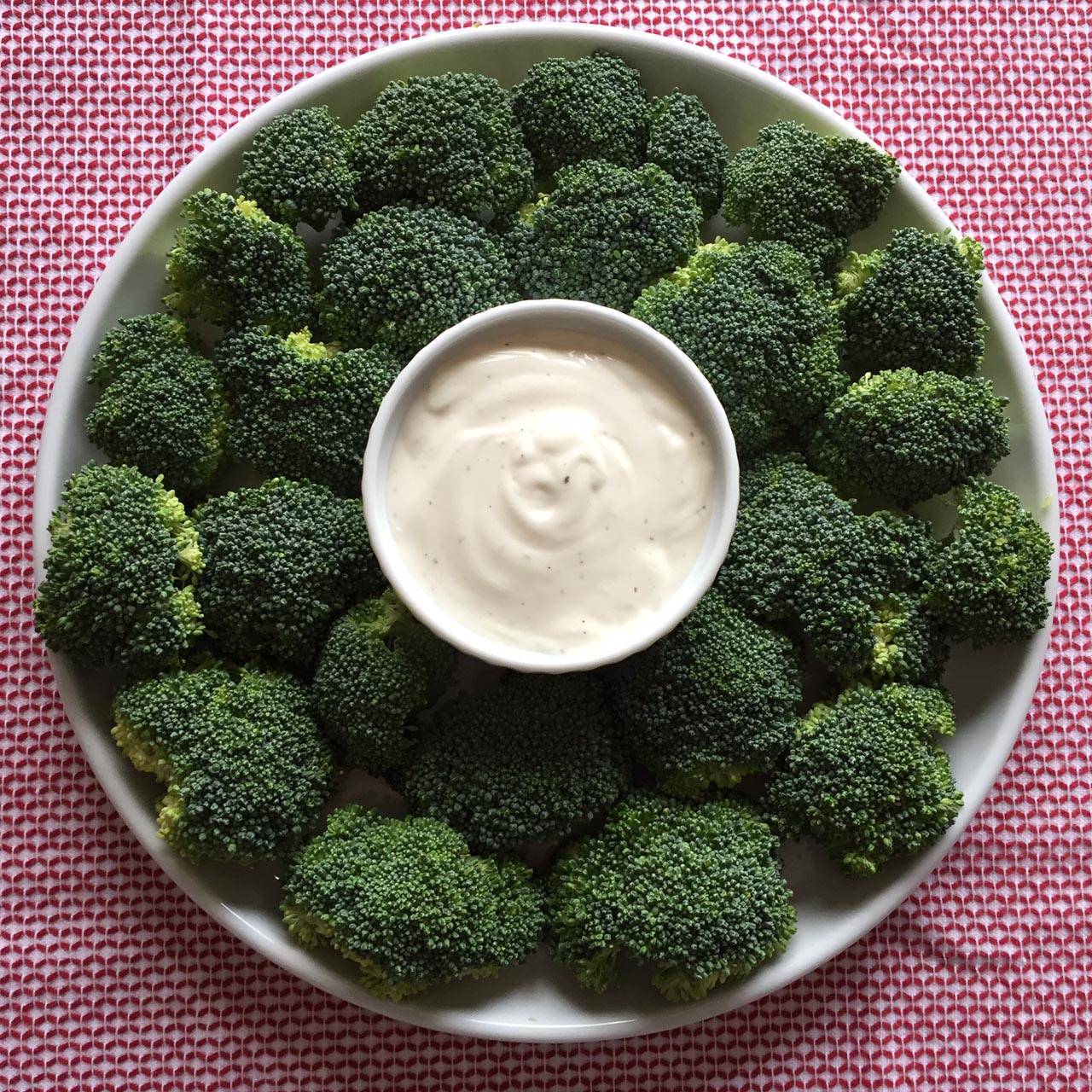 Broccoli Christmas Wreath