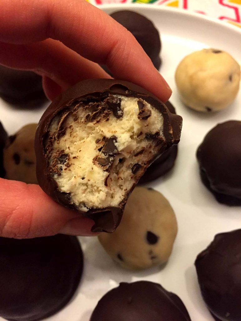 Chocolate Chip Cookie Dough Truffle Recipe