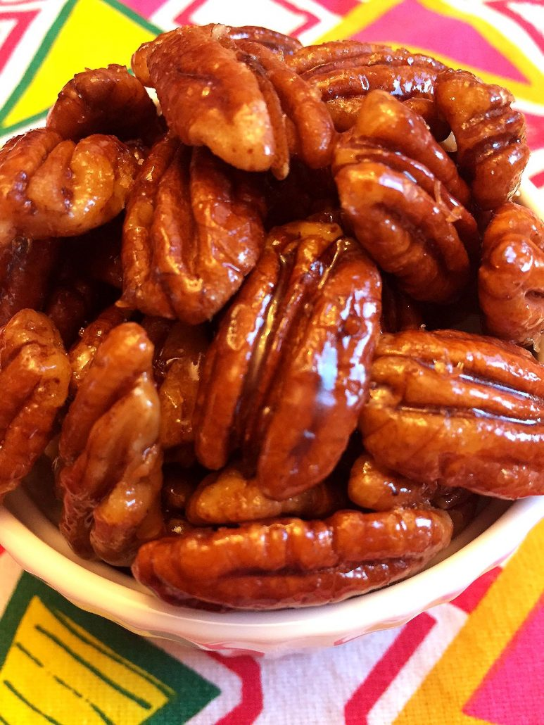 Honey Candied Nuts