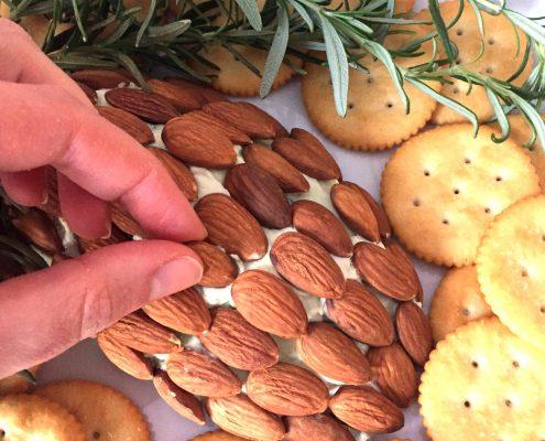 Pinecone Cheese Ball Appetizer Recipe