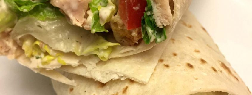 Chicken Ceasar Wraps Recipe