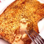 Parmesan Lemon Garlic Baked Salmon Recipe