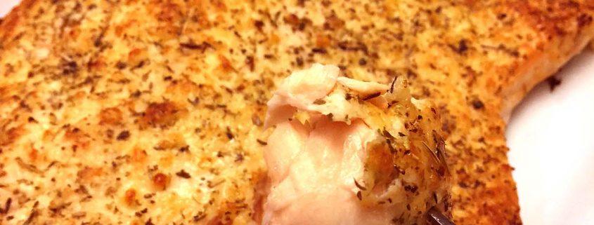 Parmesan Lemon Garlic Baked Salmon Recipe