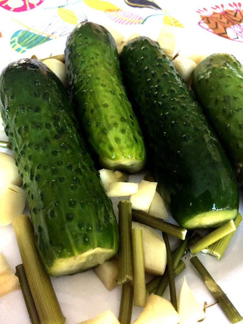 Easy Homemade Refrigerator Garlic Dill Pickles Recipe