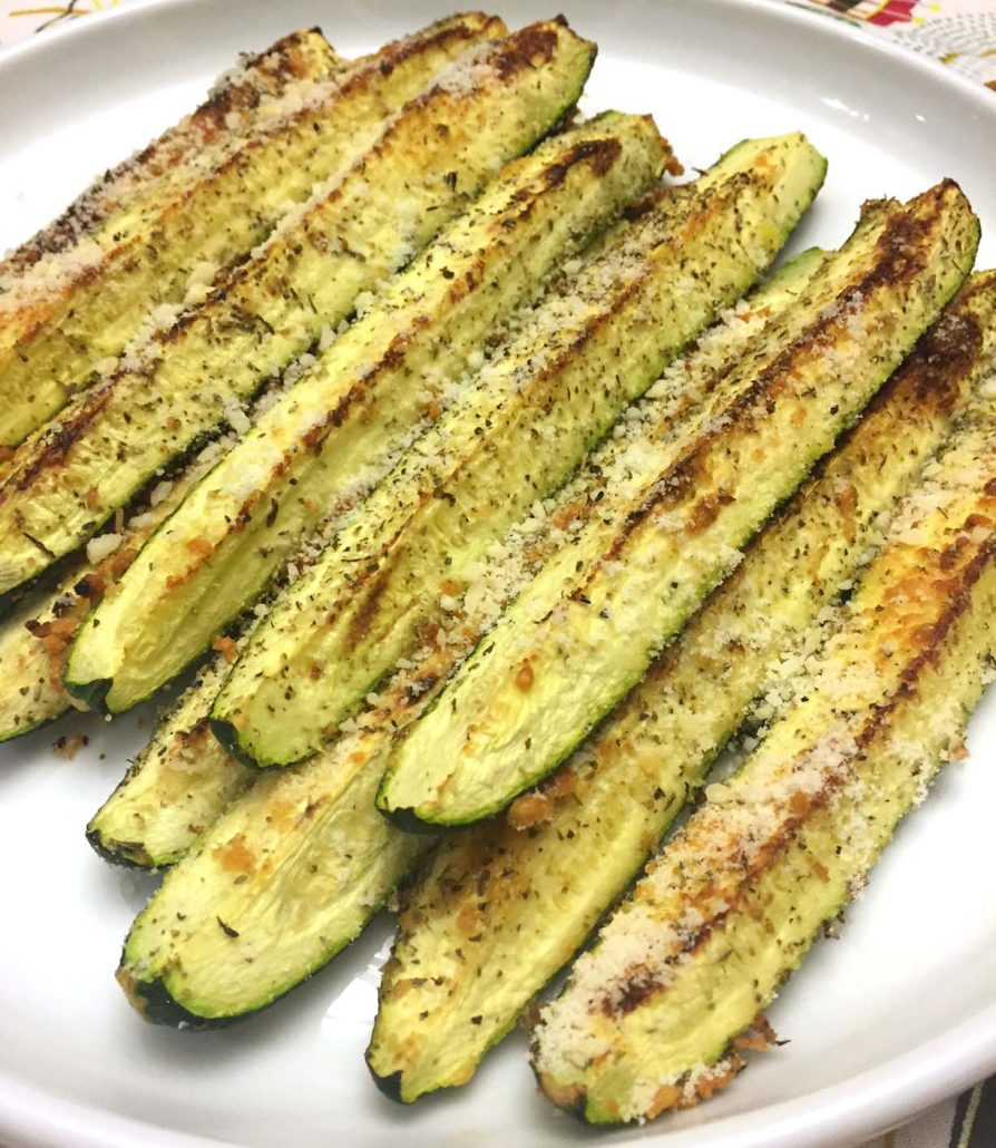 How To Make Oven Roasted Parmesan Zucchini