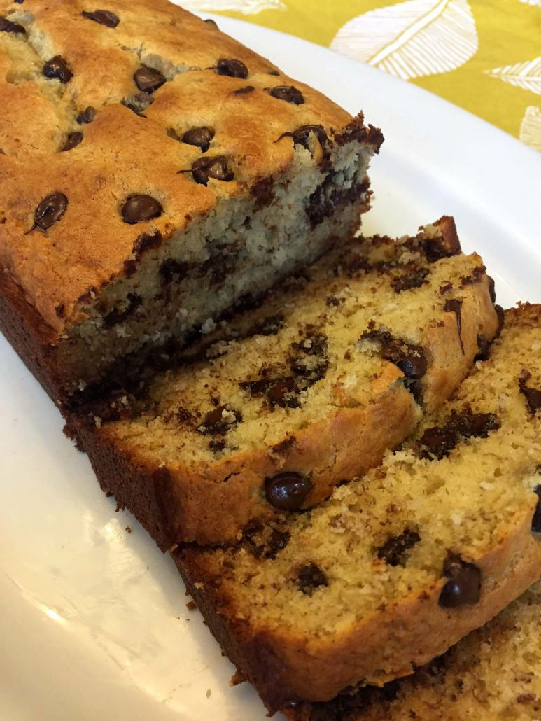 Banana Bread Recipe With Chocolate Chips
