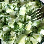Creamy Cucumber Yogurt Salad