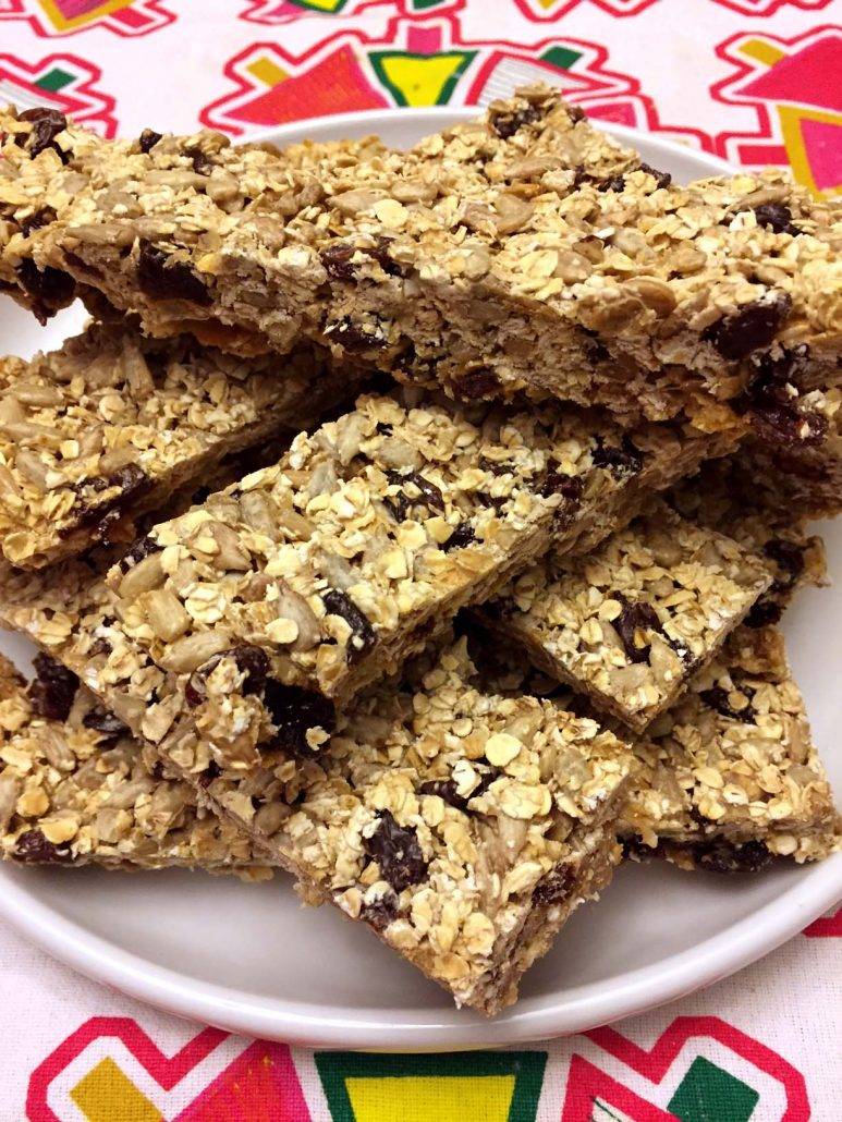 Easy Homemade Granola Bars Recipe Without Nuts