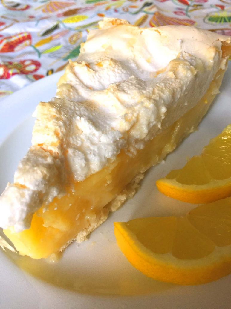 Homemade Lemon Meringue Pie Step By Step Recipe