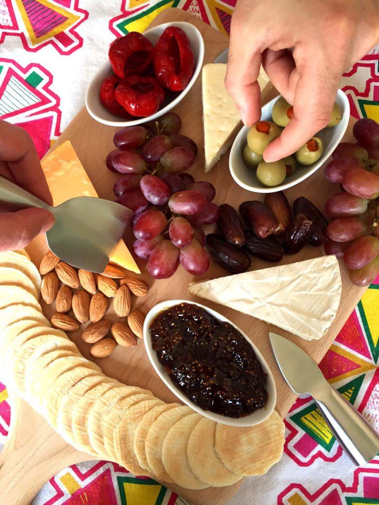 Cheese Platter Appetizer Recipe