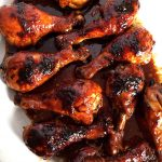 Easy Honey Soy BBQ Baked Chicken Legs Recipe