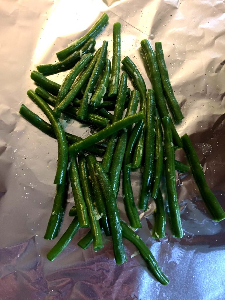 Green Beans In Foil