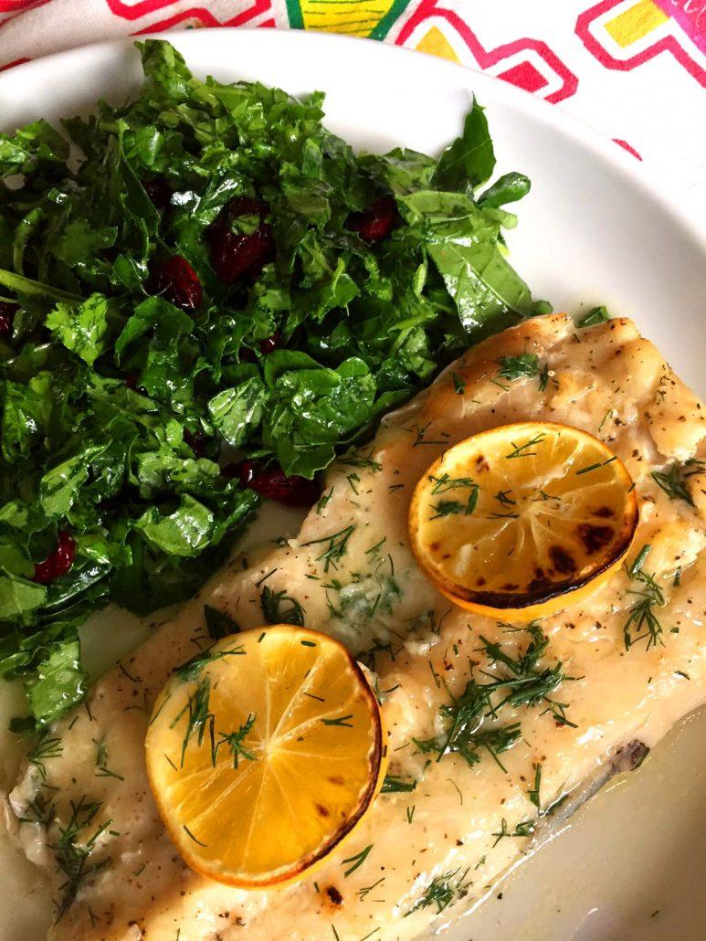 Easy Lemon Garlic Butter Baked Tilapia