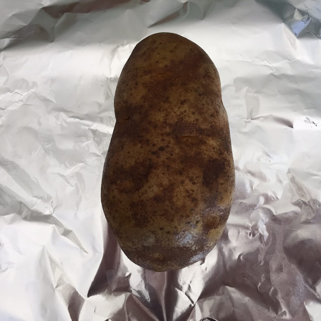 Foil Baked Potato
