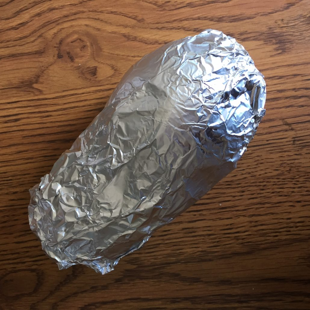 Baking Potato In Foil