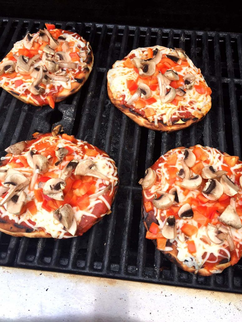 How To Grill Pita Pizza