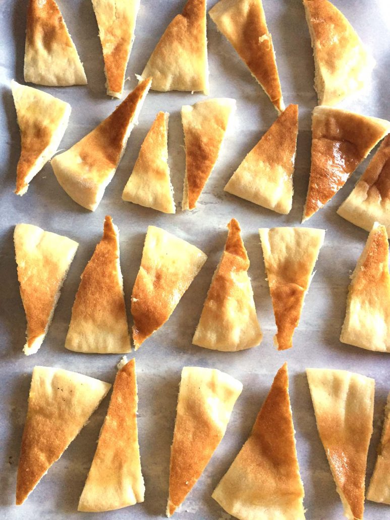 How To Make Oven Baked Pita Chips