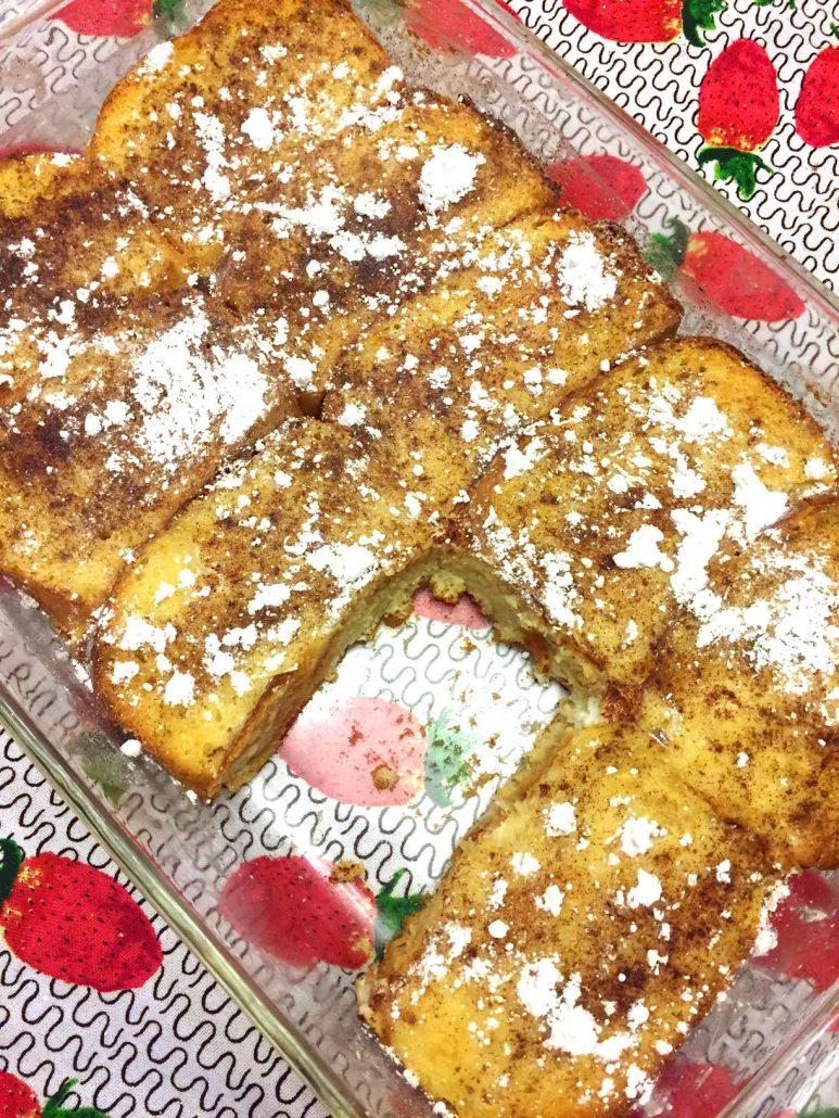 Easy French Toast Breakfast Bake