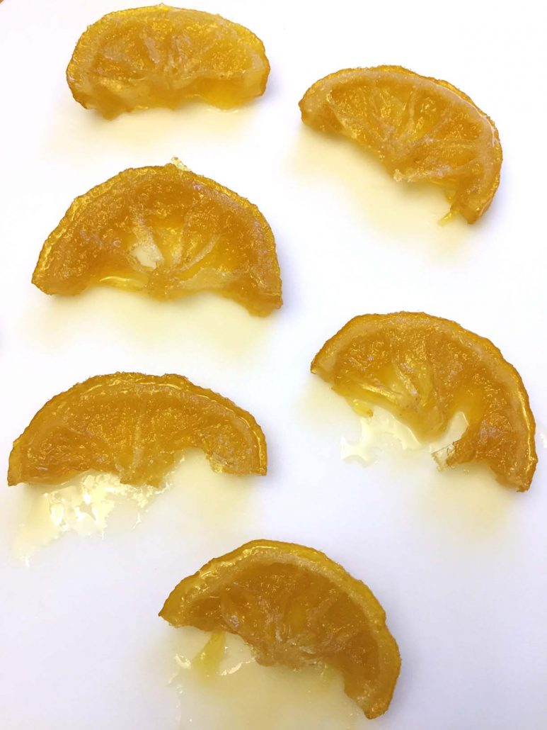 Homemade Candied Lemon Slices Easy Recipe