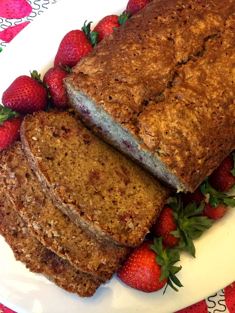 Homemade Strawberry Bread Recipe
