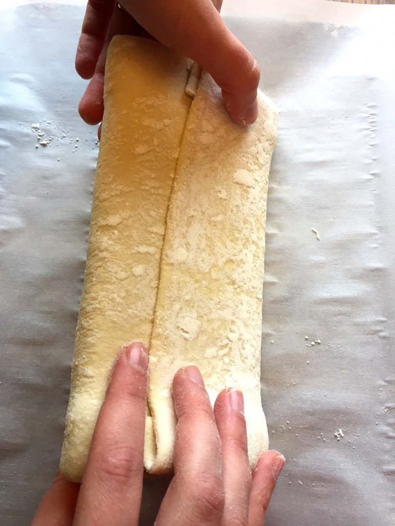 Chocolate Bar Inside Puff Pastry