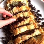 Easy Chocolate Puff Pastry Roll Recipe With Frozen Puff Pastry Dough