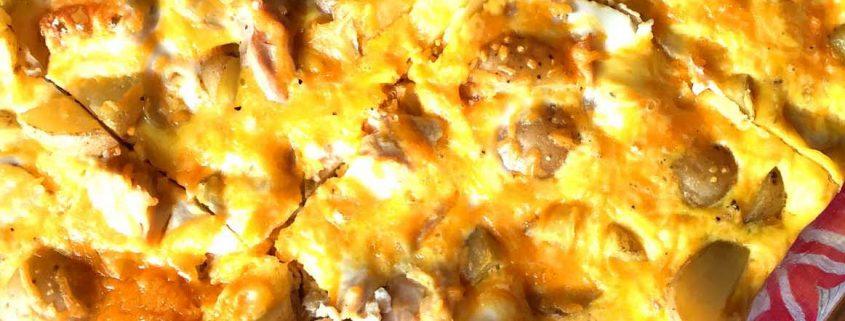 Egg Potato Chicken Breakfast Casserole