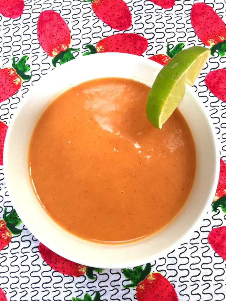 How To Make Peach Soup
