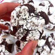 Chocolate Crinkle Cookies Recipe - So Addictive!