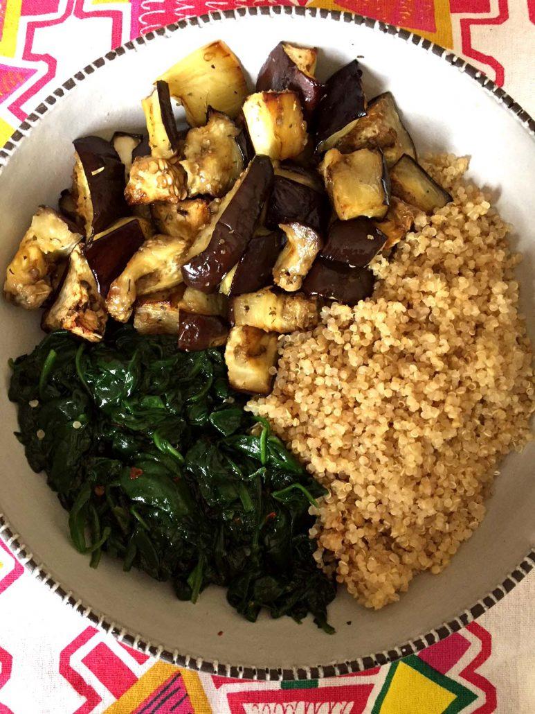 Vegan Meal Prep Quinoa Bowl