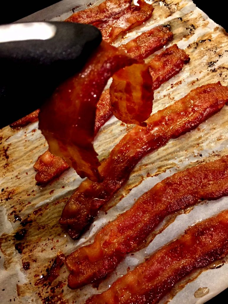Oven Baked Bacon Easy Recipe