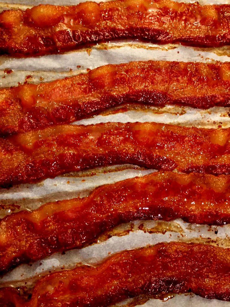 Best Ever Crispy Baked Bacon
