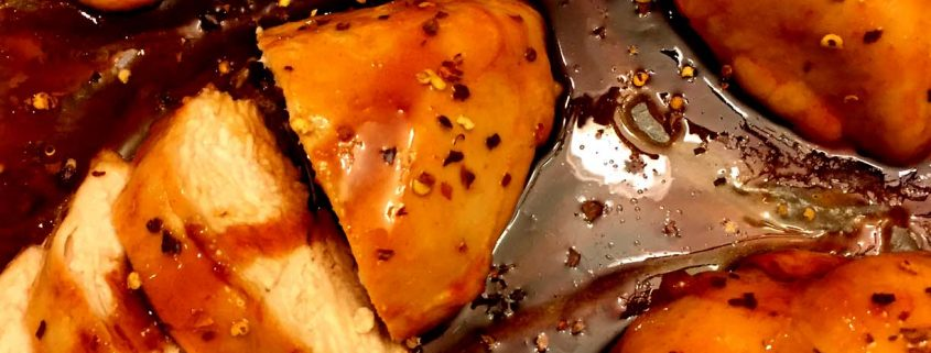 Sweet & Spicy Baked Chicken Breasts Recipe