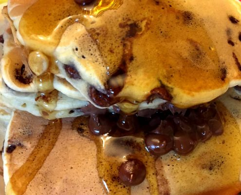 How To Make Chocolate Chip Pancakes From Scratch