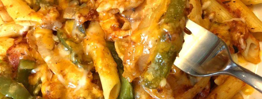 Mexican Fajitas Pasta Recipe