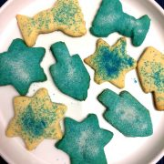 Hanukkah Cutout Sugar Cookies Recipe