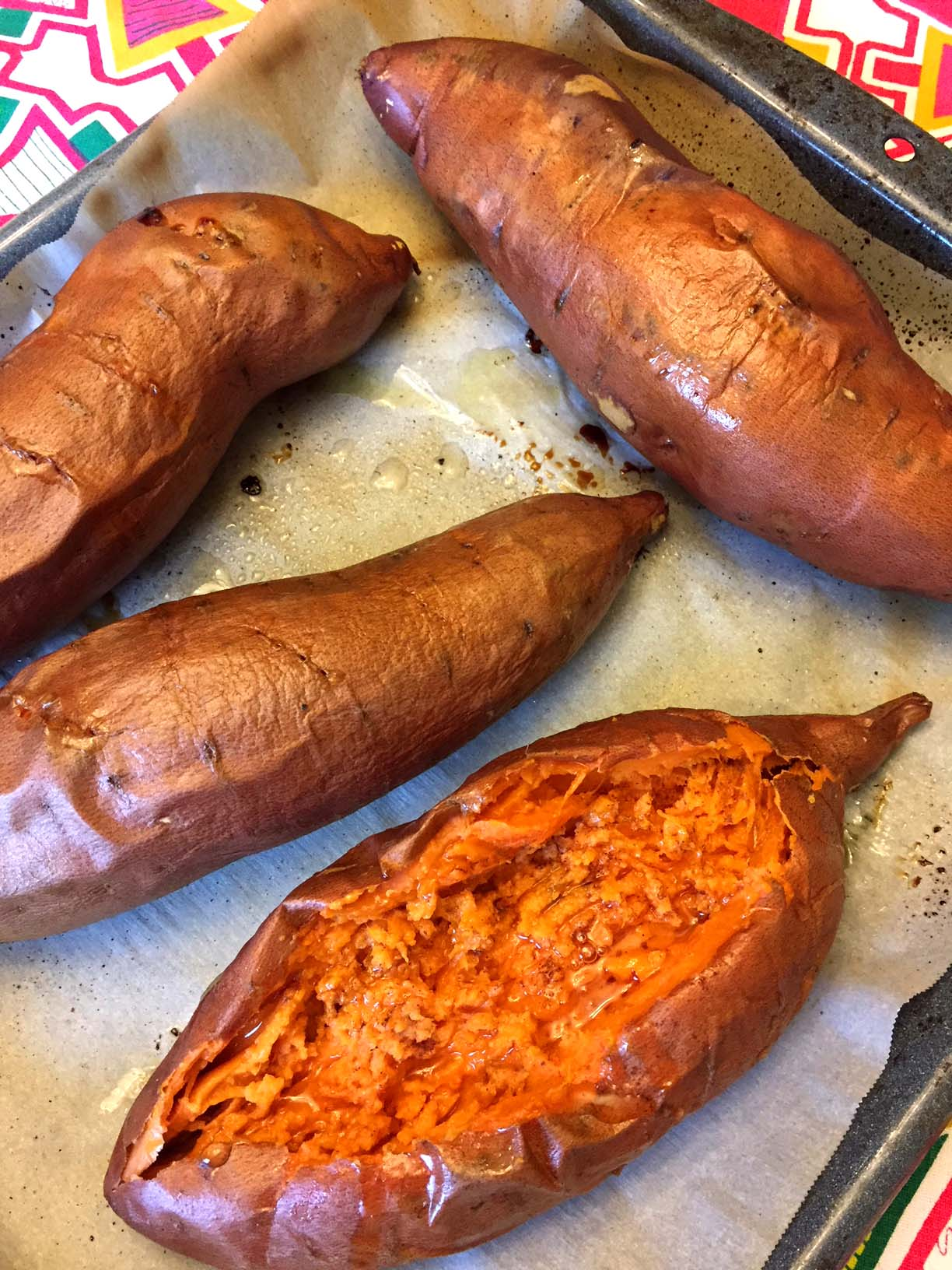 Perfect Oven Baked Sweet Potatoes Recipe Melanie Cooks