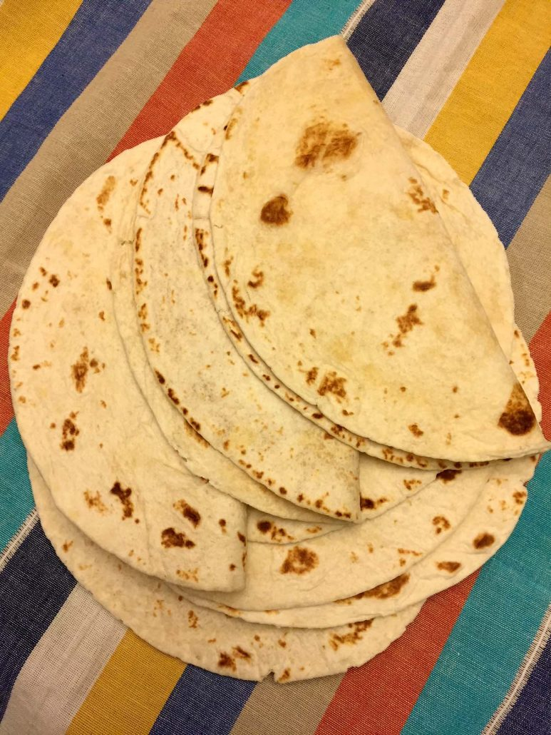 How To Cook Flour Tortillas On A Frying Pan