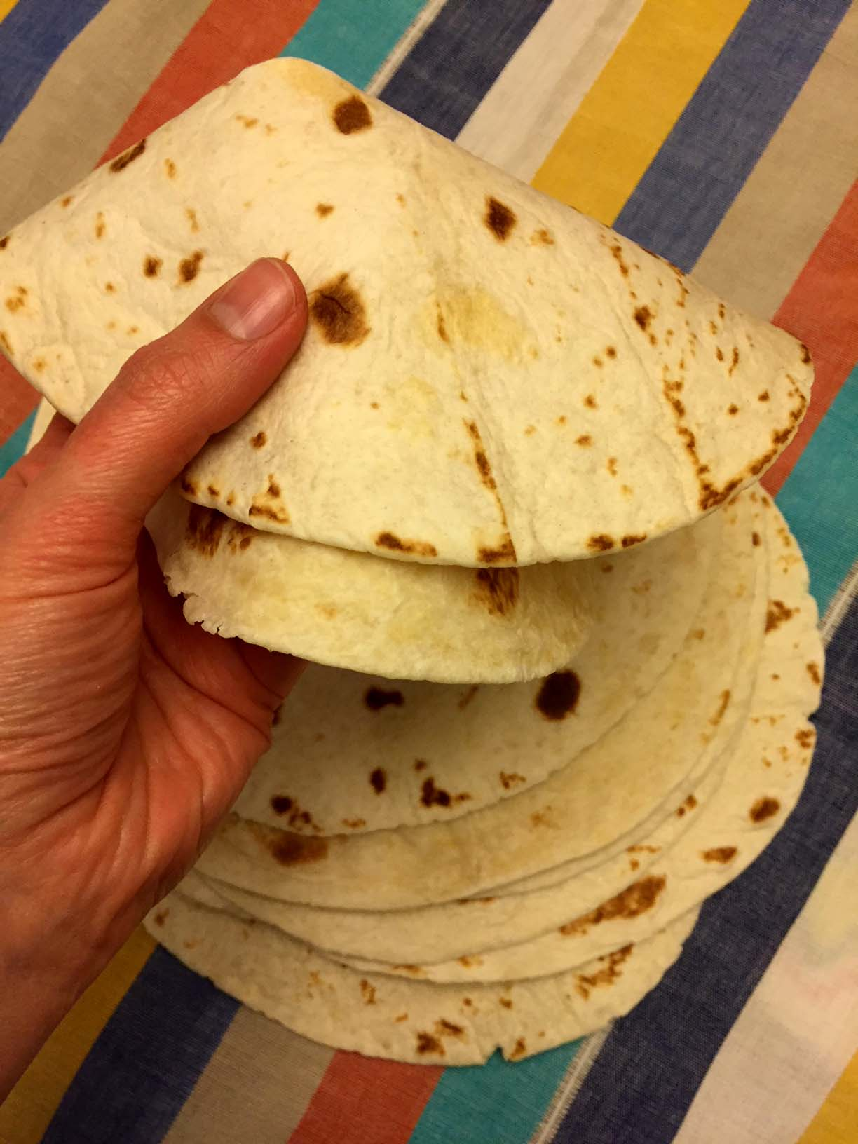 Homemade Mexican Flour Tortillas Recipe Melanie Cooks